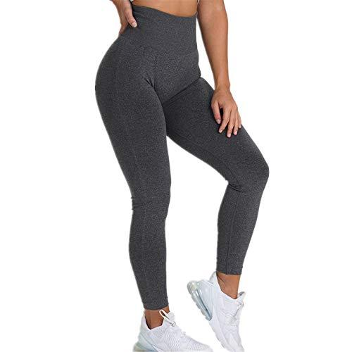 A/N Nahtlos gestrickte Hüfte Gesäß feuchtigkeitstransportierende Yogahosen Sport Fitness Hosen sexy Hüfte weibliche Leggings