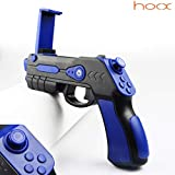 hoox Plastic Bluetooth AR Gun Toy with 18 Games for Mobile iOS Apple