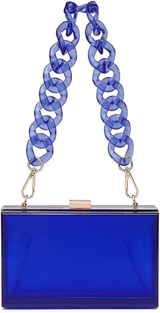 Women Acrylic Bag Chain Evening Box Bag for Ladies Small Crossbody Bag for Girls Handbag