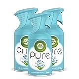 Air Wick PURE Frühlingsfrische – Blumig-frisches Duftspray geruchsneutralisierend & ohne feuchten Niederschlag – Duft: Frühlingsfrische – 3 x 250 ml