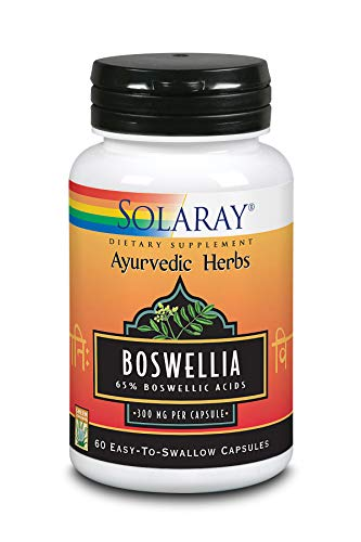Solaray Guaranteed Potency Boswellia Resin Extract 450 mg VCapsules, 60 Count