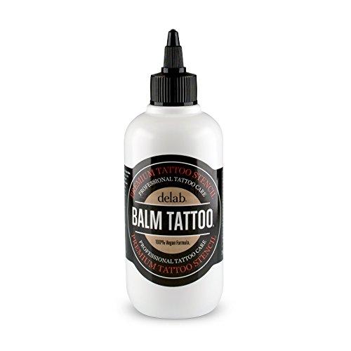 BALM TATTOO | Tattoo Stencil | Zum leichten Auftragen der Stencils auf der Haut (Stencil Flüssigkeit 250 ml)