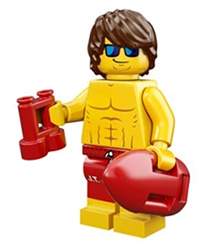 LEGO Series 12 Collectible Minifigure 71007 - Lifeguard Guy