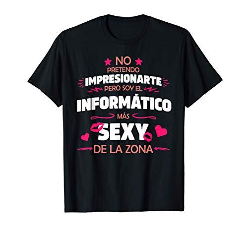 Hombre Frase Divertida y Original Para Informático Con Humor Camiseta
