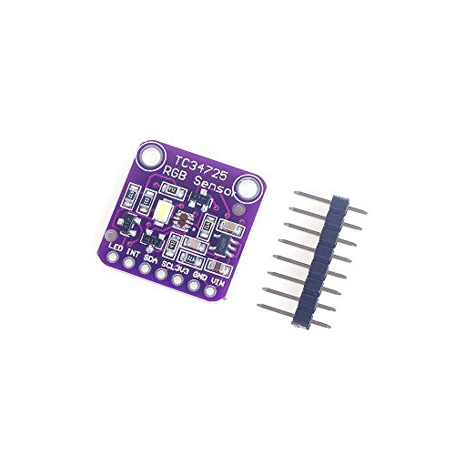 ANGEEK TCS34725 Low Power IR Blocking Filter RGB Light Color Sensor Recognition DIY Kit Electronic PCB Board for Arduino