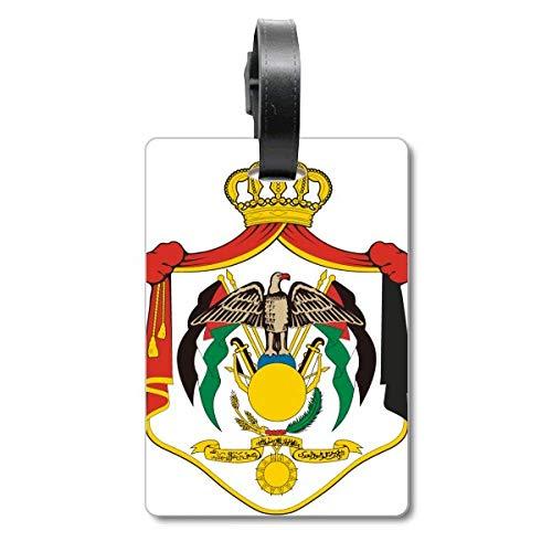 Etiqueta de identificación para Maleta con el Emblema Nacional de Jordania