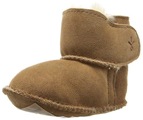 EMU Australia Grubs Baby Bootie (Infant/Toddler),Chestnut,0-6 Months M US Infant