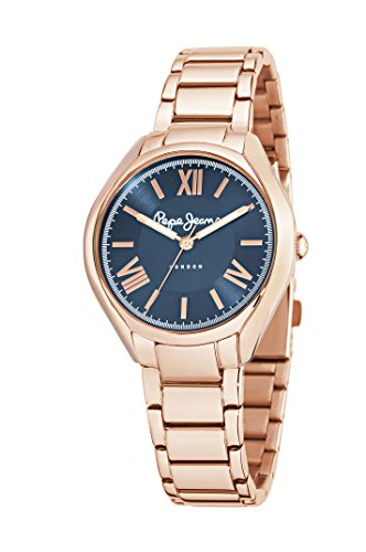 Pepe Jeans Reloj analogico para Mujer de Cuarzo con Correa en Acero Inoxidable R2353101506