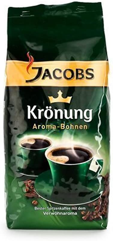 Jacobs Kroenung Aroma Bohnen Kroenung Whole Bean Coffee 17 6 Ounce Vacuum Packs Pack Of 4