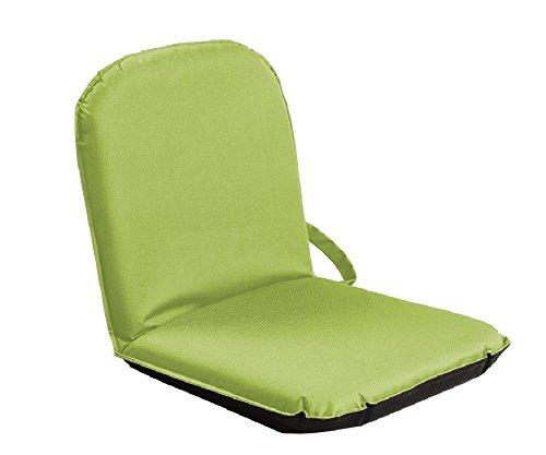 Sitzfix®, Bodensitzkissen, Bodenstuhl, Bodensitz Outdoor mit Verstellbarer Rückenlehne grün von Bungarten