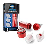 EarPeace Concert Ear Plugs - Reusable High Fidelity Earplugs - Hearing...