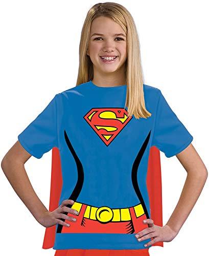 Amacigana Camiseta infantil de Superman de la Liga de la Justicia, 100% algodn multicolor XXL