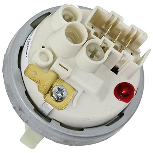 SPARES2GO Interruptor de presión compatible con el sensor de nivel de lavavajillas Miele G611 G621 G646 G818 G847 G896 1200/700