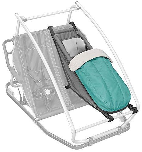Croozer Unisex– Erwachsene Kit-3092025016 Winter Kit, grün, One Size