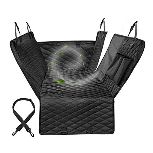 Ledersity - Funda protectora para asiento de coche para perro, impermeable, para asiento trasero