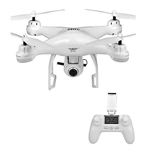 AG Rwdacfs Drone Home Quadcopter, Doble GPS con Retorno de un Botón, 120 ° C; Cámara de Función Gran Angular Video en Vivo,UNA,Un tamaño
