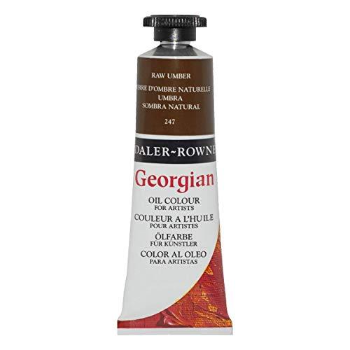 Daler-Rowney Georgian Oil Colors, 38ml, Raw Umber (111014247)