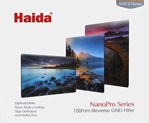 Haida NanoPro MC 150x170mm Reverse Grad Neutral Density 1.2X (16) Multi Coated Glass Filter