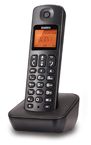 UNIDEN JAPAN AT3100 Cordless LANDLINE Telephone with Caller ID, Hands-Free Speaker Phone, 50 Name/Number Phone-Book Memory, Illuminated Display (Black)