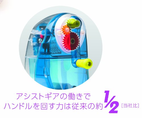 SONiC(ソニック)『かるハーフ手動鉛筆削りスケルトン』