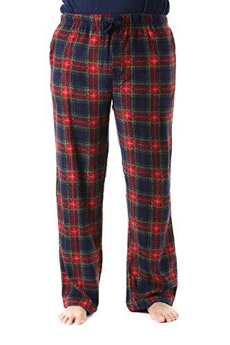 #followme 45902-14-XXL Polar Fleece Pajama Pants for Men Sleepwear PJs