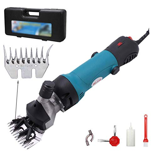 Why Should You Buy 6 Speed Sheep Shears Electric Clippers for Goats Complete Wool Clipper Kit 400W E...