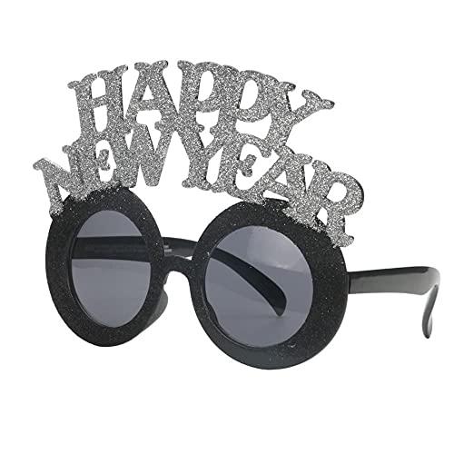 MU-PPX Gafas De Sol para Mujer Gafas De Graduación De Feliz Año Nuevo Gafas De Sol Polarizadas con Protección Uv400 Vintage Shades para Mujer
