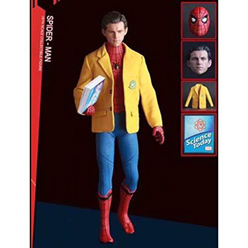 RLJXIA Marvel Serie Model Avengers 3 pak Spiderman Boxed Model Decoratie standbeeld