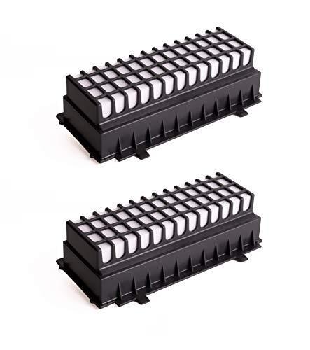 Green Label 2er-Pack HEPA Filter für Bosch Relaxx'x Pro Silence und Siemens Staubsauger (Vergleichbar mit 00577281)