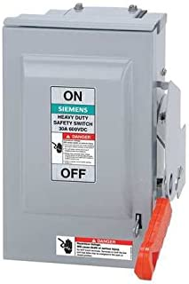 Siemens HNF362RPV 60 Amp 600 Volt Non-Fusible AC/DC Solar PV Outdoor Safety Switch