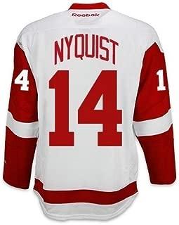 Gustav Nyquist Detroit Red Wings Reebok Premier Away Jersey NHL Replica