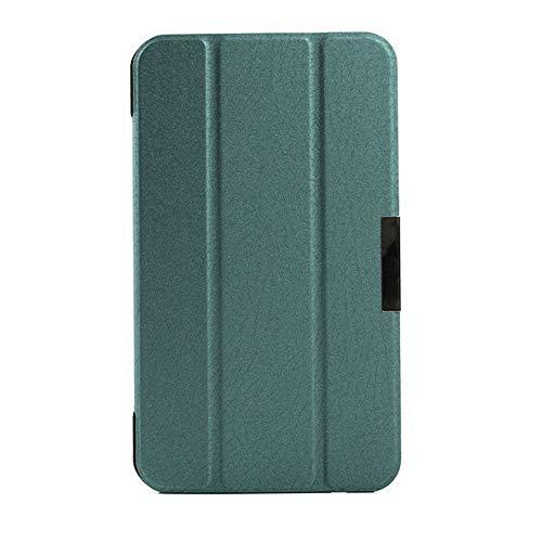 Schutzhülle für Asus FonePad 7 FE170CG K012 ME70C K01A Memo Pad 7 ME70CX K017 7 Zoll Tablet Smart Cover Ultra Slim Folio Stand Sleep/Wake Up Lederhülle (3 Grün)