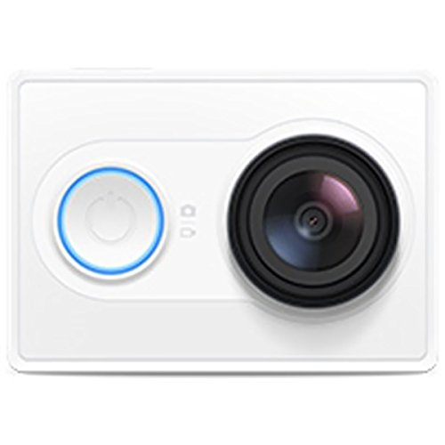 Xiaomi Yi Action - Videocámara deportiva Full HD 1080p,blanco Walio®