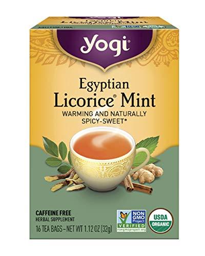 Yogi Tea, Egyptian Licorice Mint, 16 Count