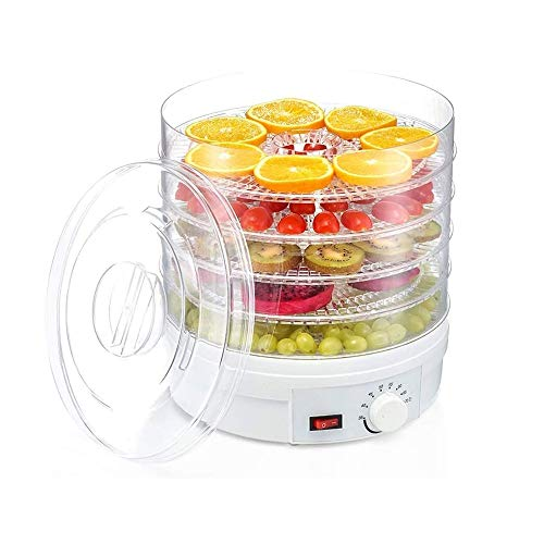 Amazing Deal SMLZV Countertop Portable Electric Food Fruit Dehydrator Machine 5 Layers Of Electric F...