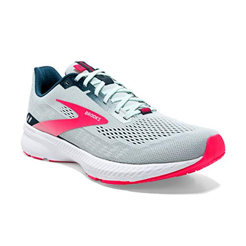 Brooks Launch 8, Zapatillas para Correr Mujer, Ice Flow Navy Pink, 42 EU