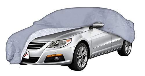 Walser Premium Autoplane All Weather, Autogarage wetterfest, Vollgarage wasserdicht, Sonnenschutz Auto, UV-Schutzplane Auto, Autoabdeckung Regen