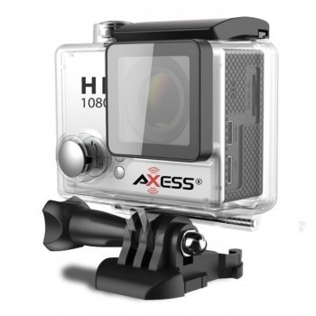 Axess Full HD 1080h.264 Waterproof Action Camera-Silver