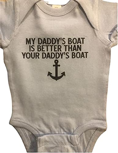 Daddy's Cash special price Boat Onesie ® We OFFer at cheap prices infant boating piece ba one