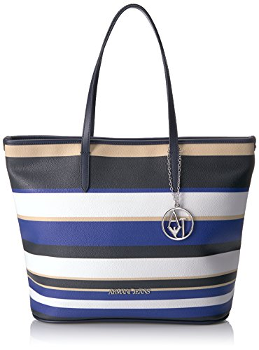 Armani Jeans 9220287P773 - Bolso al hombro para mujer, color Azul, talla...