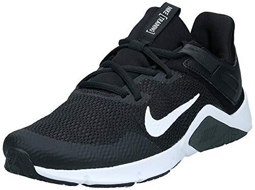 Nike Herren Legend Turnschuhe Fitness und Bewegung Man, Schwarz/Weiß/Dk Rauchgrau, 44 EU