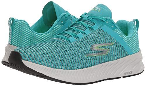 Skechers - Go Run Forza 3 Mujer, Azul (Verde Azulado), 37 EU