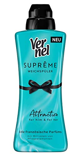 Suavizante Vernel Suprême Attraction, 6 unidades (6 x 600 ml)