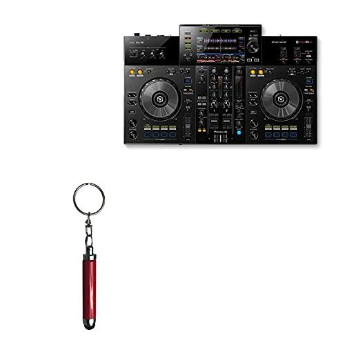 "Caneta Stylus Pioneer XDJ-RR (7 polegadas), BoxWave [Caneta Stylus capacitiva] Mini caneta Stylus com alça para chaveiro para Pioneer XDJ-RR (7"") - Rubi"