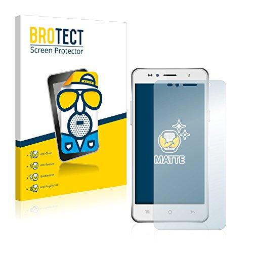 BROTECT 2X Entspiegelungs-Schutzfolie kompatibel mit Siswoo C50 Longbow Bildschirmschutz-Folie Matt, Anti-Reflex, Anti-Fingerprint