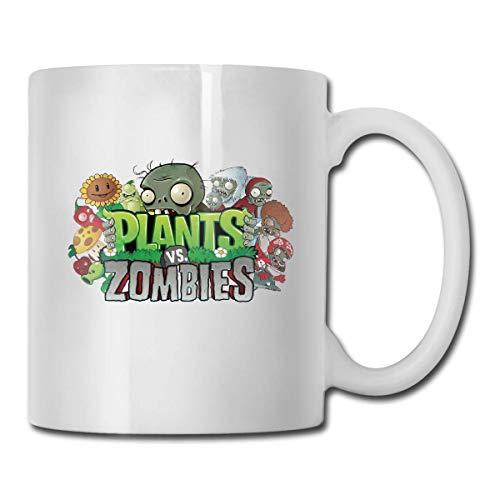 ixiandian-1 Kaffeebecher Best Gift Plants Vs Zombies Tea Ceramic Tea Cup Coffee Mug Cup Personalized Custom Gift Office Mug - Funny Coffee Cup Personalized Coffee Cup Gift White