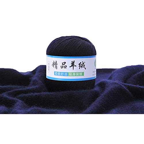 Eliky zachte kasjmier breiwol garen DIY baby warmer sjaal sjaal muts haakgaren accessoires 22