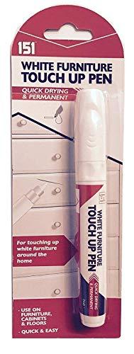 Wilsons Direct Ausbesserungsstift, für Möbel, Permanent, Entfernt Flecken, Verwendung auf Schrankboden, Weiß
