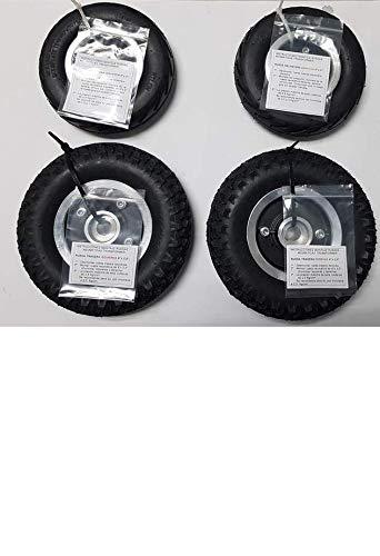 Kit 4 ruedas neumáticas para el scooter transformer de Apex