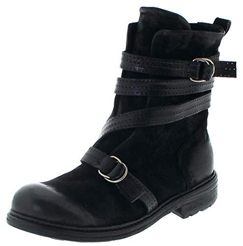 FB Fashion Boots A.S.98 Herren Stiefel 327204 Nero Lederstiefelette Airsteps 44 EU